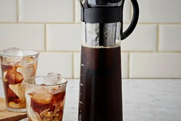cara membuat cold brew coffee manual